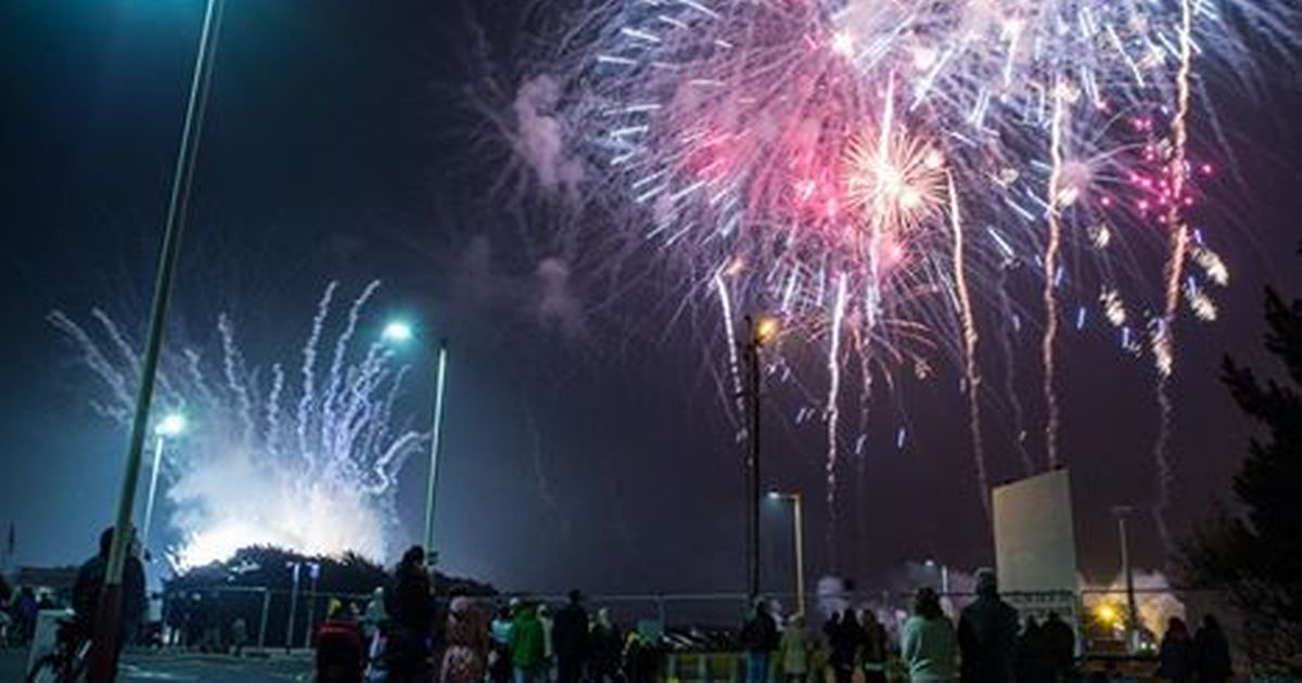 British Musical Fireworks Championship in Southport